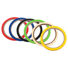 10Pcs Thin Draping Tape Marking Pattern Masking Tape Self-Adhesive Gridding Tape Droping Tape Colorful graphic tape