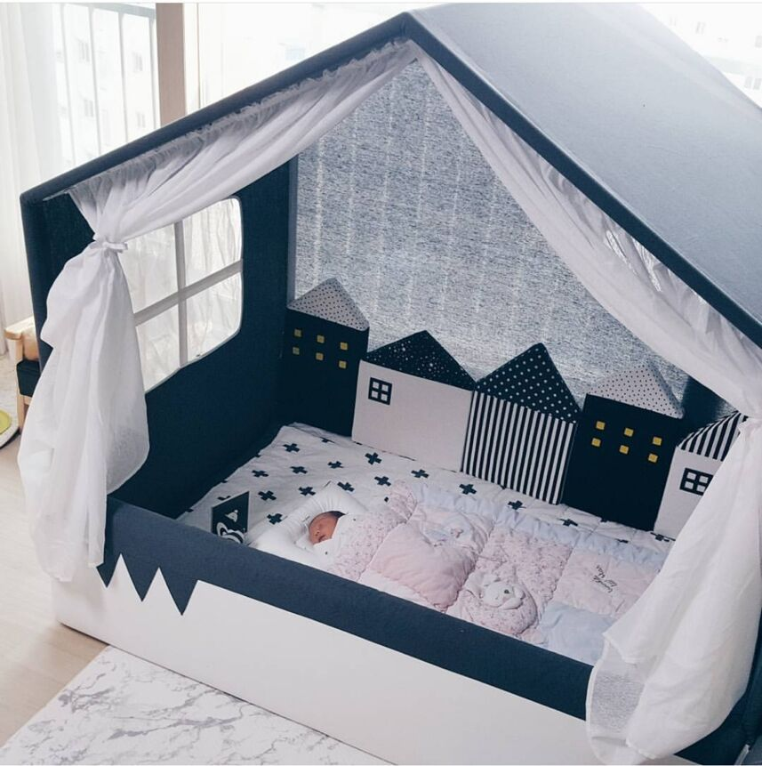 Kids Tent Safe Fence For Babies Crib Baby Bed Bumper Fence Protector Infant Room Decor Kid Room Decoration Home Accessory HM0033