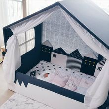 Tent Room-Decoration Home-Accessory for Babies Crib Baby Bed-Bumper Fence-Protector Infant