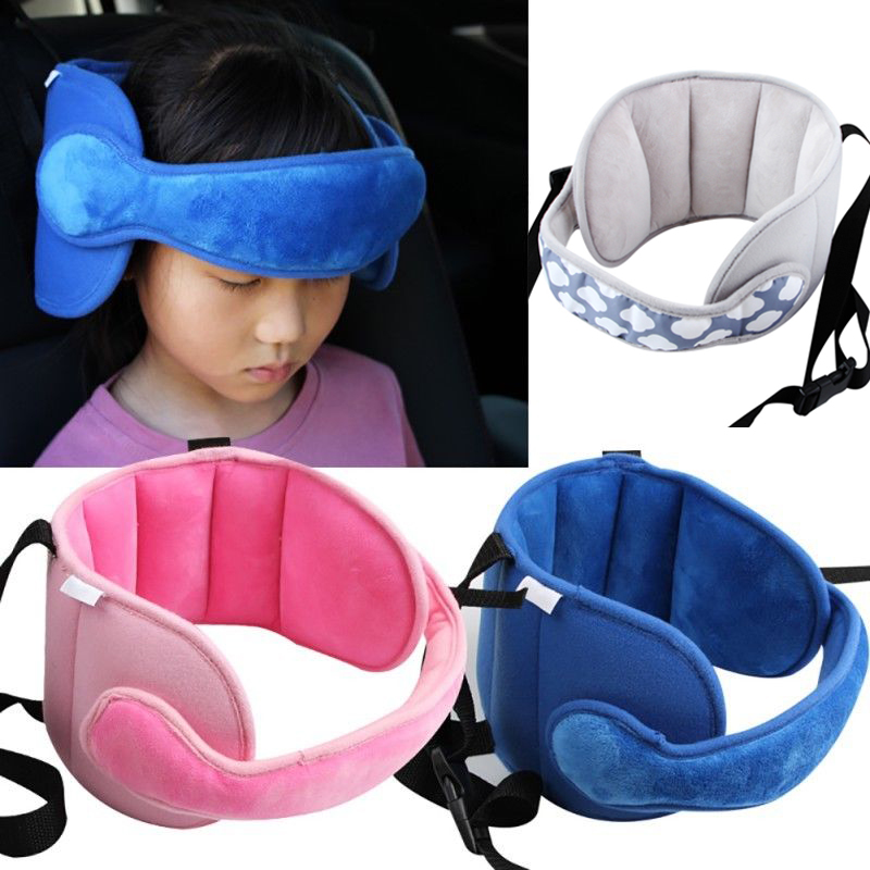 Pudcoco Baby Kids Head Neck Support Car Seat Belt Safety Headrest Pillow Pad Protector Head Body Supports