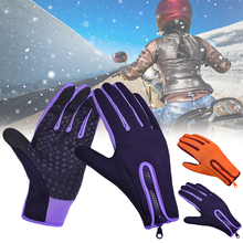 Touchscreen Winter Thermal Warm Cycling Bicycle Bike Ski Outdoor Camping Hiking Motorcycle Gloves Sports Full Finger