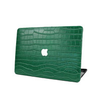 Customized High Quality Genuine Embossed Crocodile Leather Cover For Macbook Laptop Protective Case For Air Pro Retina 13 15