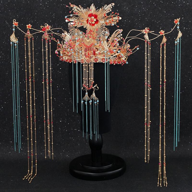 Новый Полный AAA Украшенные фианитом Корона невесты тиара имитация жемчуга свадебная корона для женщин Свадебные аксессуары для волос голов... - 4