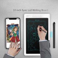 10 дюймов Портативный ЖК-дисплей планшет для письма цифровой электронный рисунок почерк bluetооth подключение к мобильного телефона ультра-тонких досок