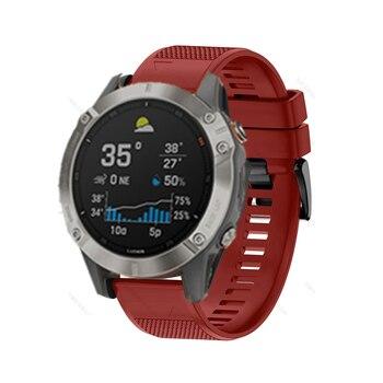 FIFATA Smart Watch Band Straps For Garmin Fenix 6 6S 6X 5X 5 5S 3 3HR Forerunner 935 945 Quick Release Strap Silicone Bracelet 2