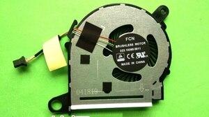 Новый оригинальный вентилятор для ЦП ноутбука HP X360 13-U M3-U FOXCONN BONBON13 855966-001, охлаждающий вентилятор охлаждения