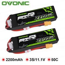 1pc gens ovonic 2200 2600mahの11.1vリポ3sバッテリー50C XT60とディーンズtコネクタrcカー用ドローンヘリボート車