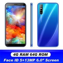 4G Ram + 64G Rom A20s Gezichtsherkenning Android Mobiele Telefoons 13MP Originele Celular 6.0