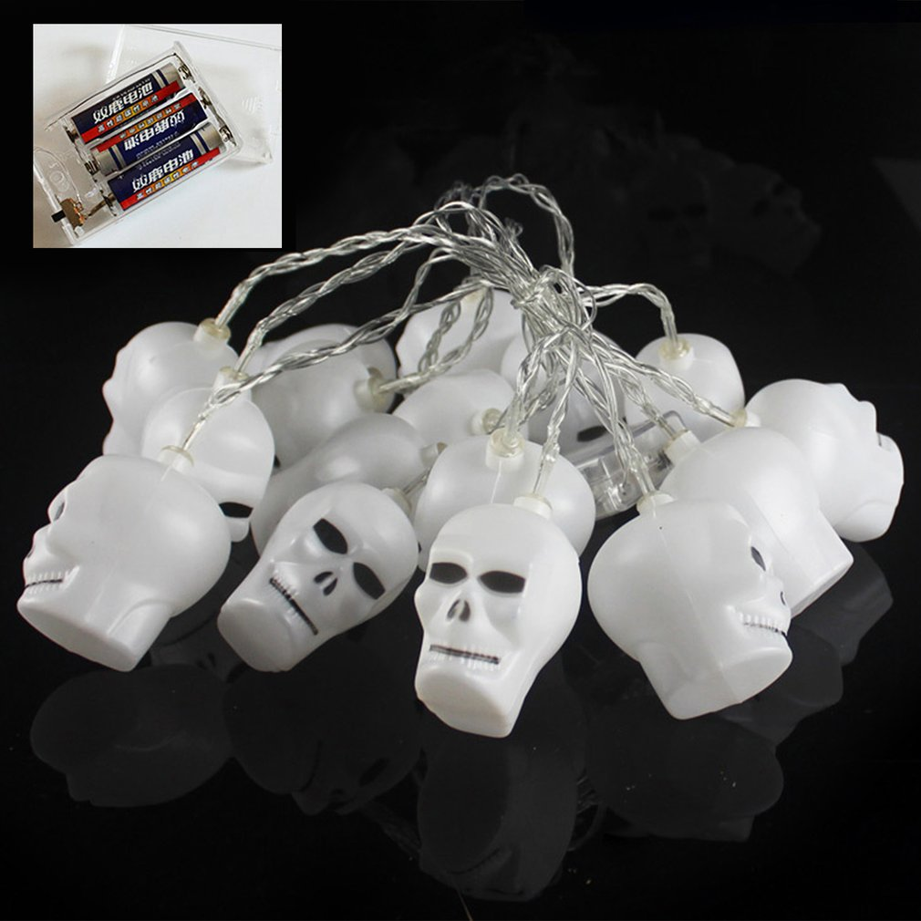 Battery Power Supply 3D Shape LED String Lights Halloween Holiday Indoor Home Decoration Energy-saving Lantern Lights