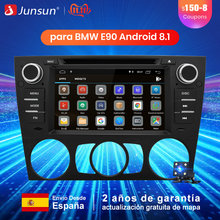Junsun 1 Din Android 8.1 Radio coche reproductor Multimedia de DVD GPS para BMW/320/328/serie 3 E90 /E91/E92/E93 Bluetooth Autoradio(China)
