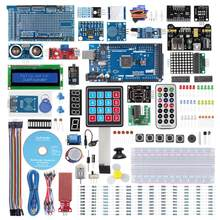 SunFounder Mega2560 R3 Project самый полный стартовый набор, совместимый с Arduino Mega 2560 R3 Mega328 Nano, Mega2560 Board a
