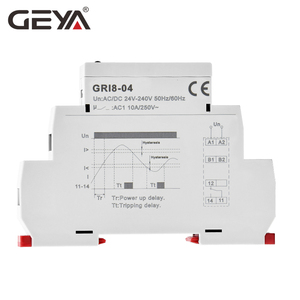 Image 3 - Free Shipping GEYA GRI8 04 Over Current and Under Current Protection Relay 0.05A 1A 2A 5A 8A 16A Current Monitoring Device