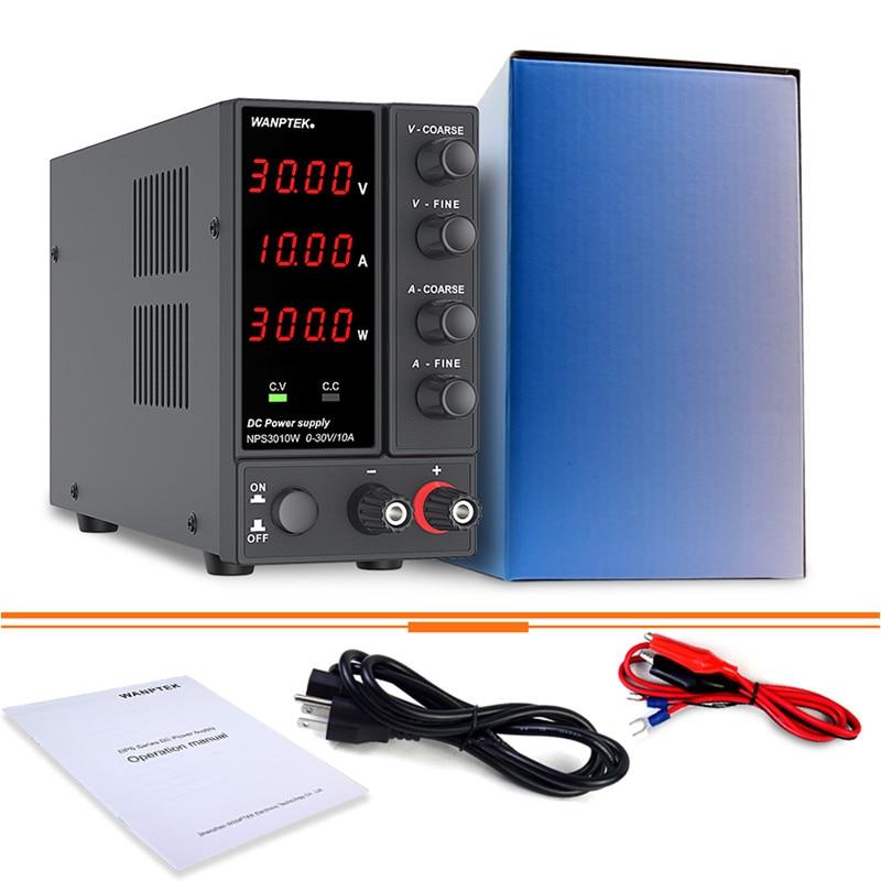 Wanptek Adjustable DC Laboratory 30V 10A Lab Power Supply Adjustable 60V 5A Voltage Regulator Stabilizer Switching Power Supply-5