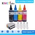 Совместимый сменный картридж KMCYinks для принтера HP 711 XL Deskjet T520 T120 T520 36 T520 610 T520 914 с 4 чернилами
