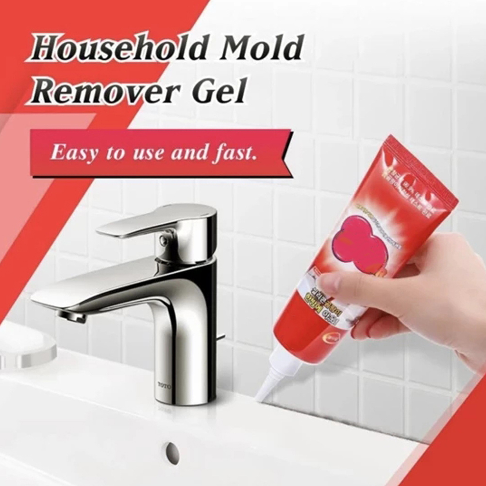 Floor Caulk Deep Down Mildew Cleaner Portable Anti Odor Wall Surface Mold Remover Gel Indoor Toilet Porcelain Household Kitchen