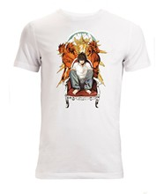 Death Note Characters L Laito Ryuk Kira Mens (Womans Available) T Shirt White(China)