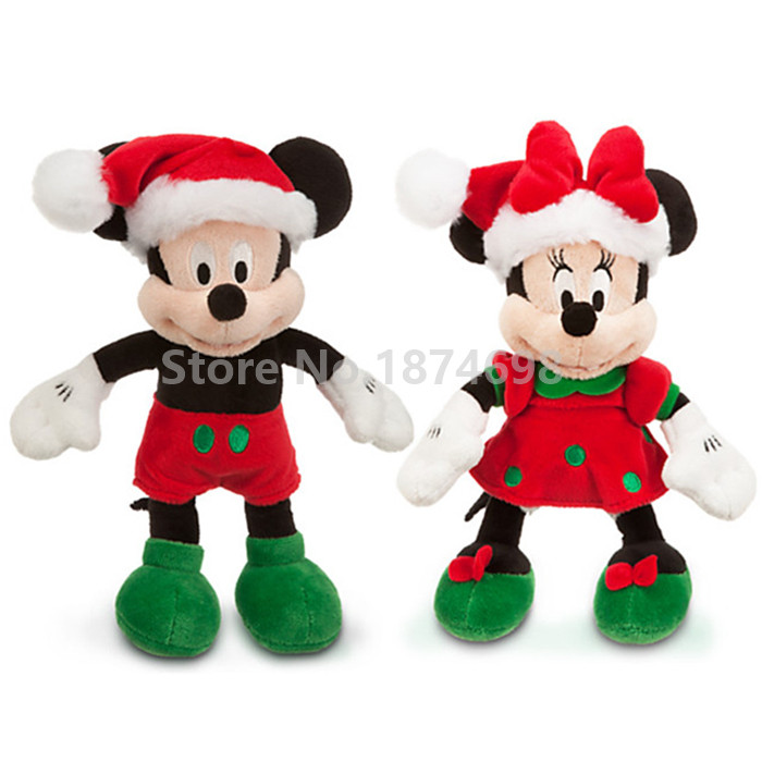 New Mickey Minnie Christmas Holiday Mini Plush Toy Doll Cute Stuffed Animals 22cm Kids Toys Dolls Baby Children Gifts-in Stuffed & Plush Animals from Toys & Hobbies on AliExpress - 11.11_Double 11_Singles' Day 1