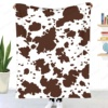 Hot sale Cow Print Blanket for Sofa Couch Flannel Animated cartoon Design Brown Throw Blanket