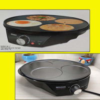 Electric Crepe Maker Pizza Pancake Machine Non Stick Griddle Baking Pan Cake Machine Kitchen Cooking Tools egg cooker