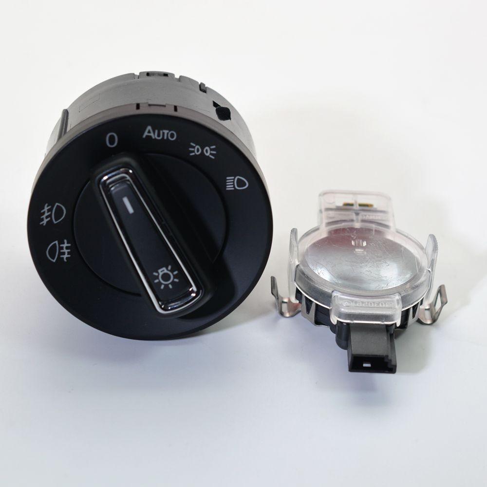 Lámpara de interruptor de luz del faro Unidad De Control Para Audi A6 4B C5