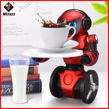 Origial WLtoys F1 2.4G RC Robot Toys 3-Axis Gyro Intelligent Gravity sensor Balance RC Smart Robot Kids Toy цены