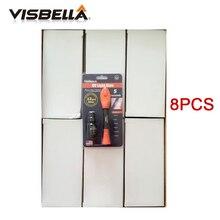 Visbella 8PCS/box 5 Second Fix UV Light Grass Glue Pen Repair Quick Use Liquid Wholesale Refill and Sealers Hand Tool Sets