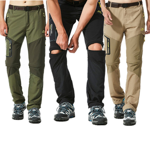 Image 4 - NUONEKO Quick Dry Removable Hiking Pants Outdoor 6XL Mens Summer Breathable Shorts Men Mountain Camping Trekking Trousers PN09