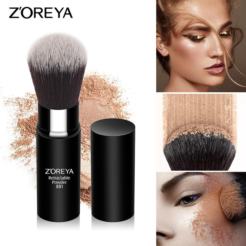 Makeup-Brush ZOREYA Beauty-Tools White And Black Man-Made-Fiber The-United-States Market