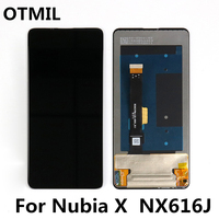 6.26 For ZTE Nubia X NubiaX NX616J LCD Display Touch Screen Digitizer For ZTE Nubia X Display For ZTE NubiaX LCD Replacement