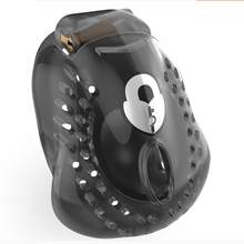 2020 Latest Design ARMOR 01 Male Fully Restraint Bowl Chastity Device Cock Cage With 4 Penis Ring Bondage Lock Adult Sex Toy 3 Color 921(China)