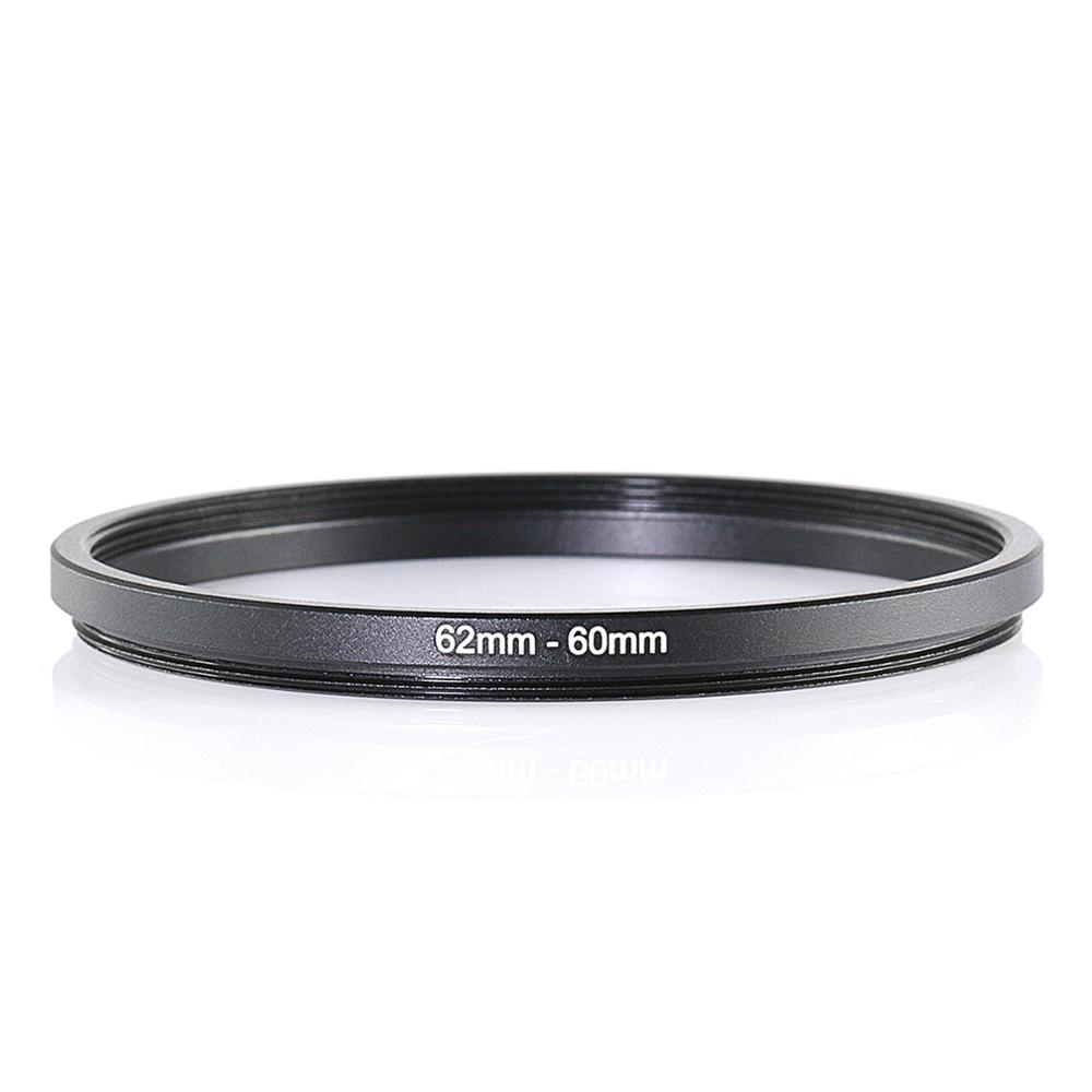 RISE(UK) 62mm-60mm 62-60 Mm 62 To 60 Step Down Filter Ring Adapter