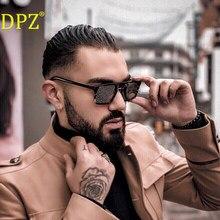 Новинка 2020 DPZ Ретро тренд большая оправа женские солнцезащитные очки фирменный дизайн мужская коробка уличные солнцезащитные очки для вожд...