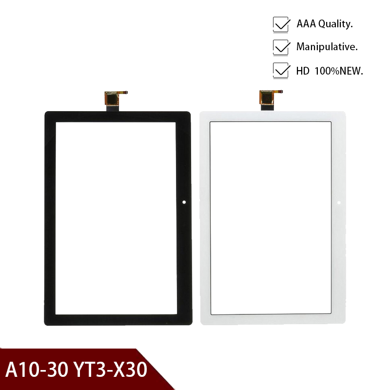 10.1'' Tablet Display Touch Screen For Lenovo Tab 2 A10-30 YT3-X30 X30F TB2-X30F TB2-X30L Touchscreen Panel Front Glass Sensor