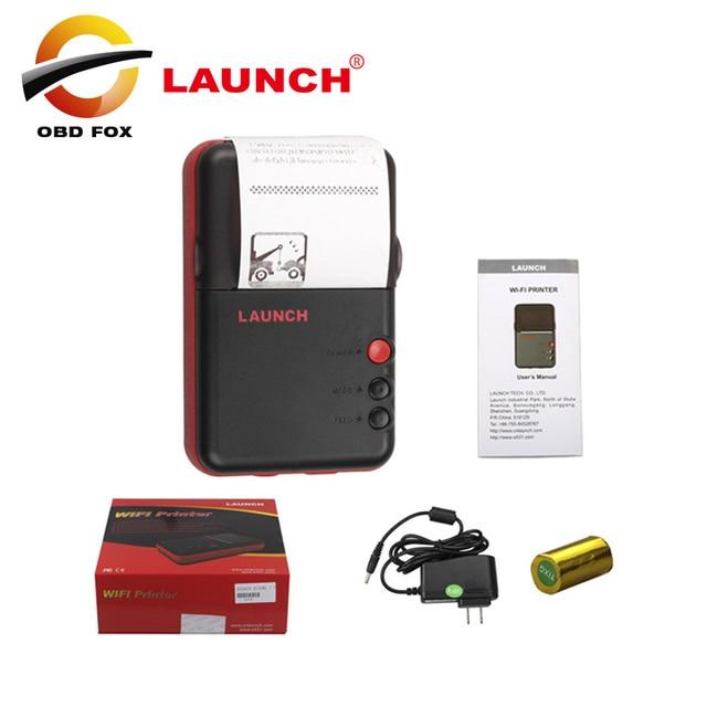 2019 nouveauté Original X 431 V Mini imprimante pour le lancement X431 V + mini imprimante boîte enregistrement travail avec wifi livraison gratuite