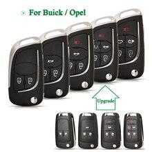 Bilchave Geändert Für Opel Vauxhall Insignia Astra Mokka Adam Cascade Karl Zafira Für Buick Remote Auto Schlüssel Shell HU100 Klinge
