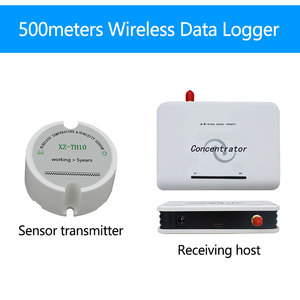 Image 3 - Датчик влажности зерна 433/868/915 МГц датчик влажности температуры и влажности беспроводной регистратор данных для силосов зерна