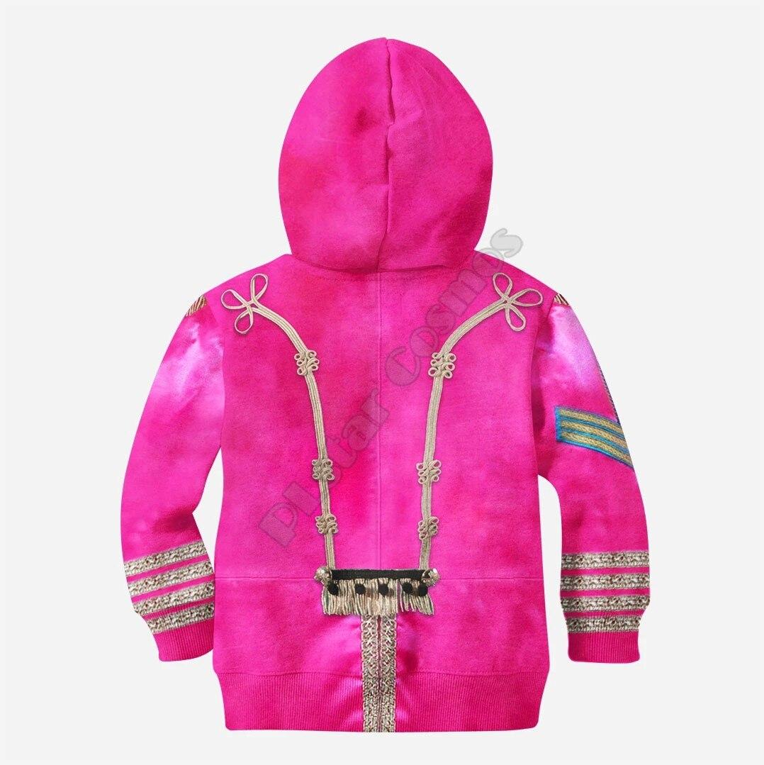 Купить розовый красный рыцарский костюм толстовки с 3d принтом одежда