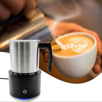Automatic Milk Frother Milk Steamer Electric Cappuccinator Hot Cold Espresso Coffee Maker Electric Cappuccinator Milk Frother