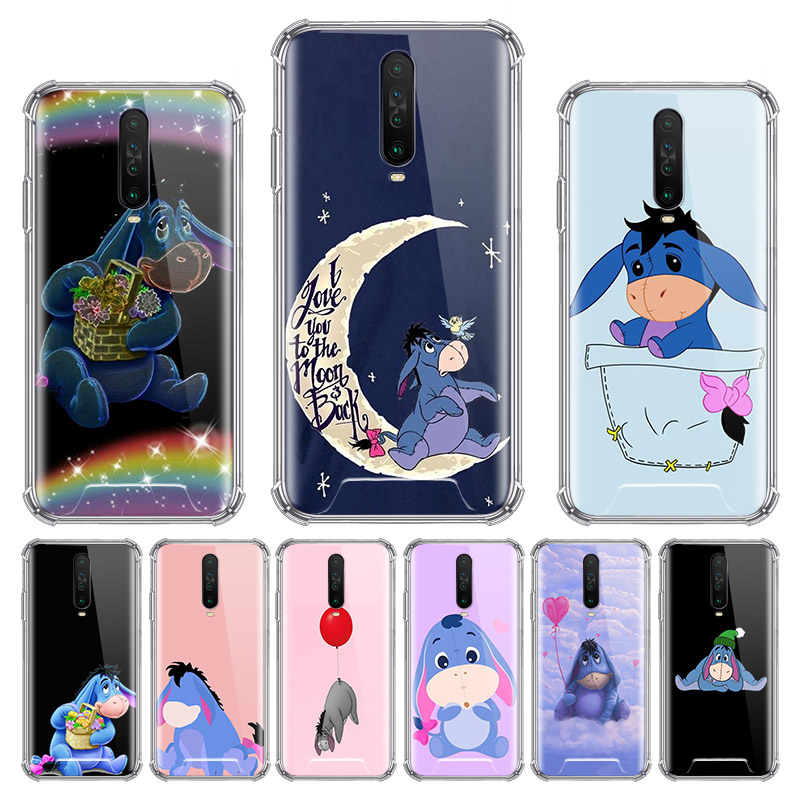 Baby Eeyore Donkey Case For Xiaomi Redmi Note 8T 9 Pro Max 8 9S 7 6 7A 6A K20 K30 Pro Zoom Airbag Anti Sac Phone Shell
