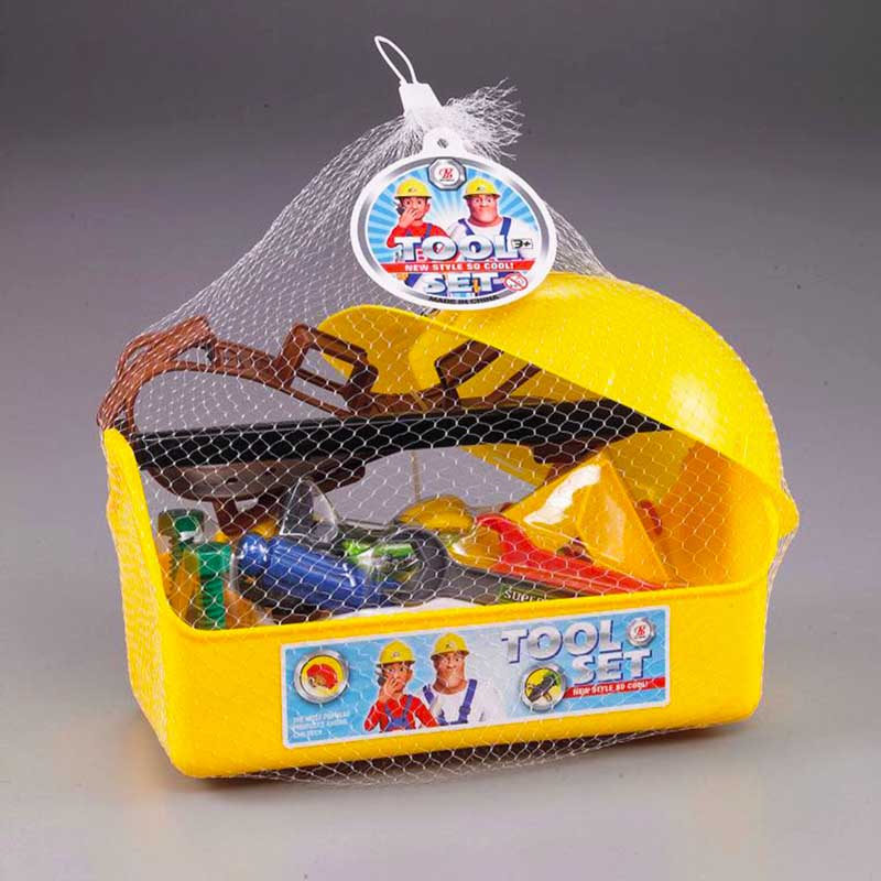 Fireman Sam Toolbox set Children's outdoor play water bench Toys Baby House scene Tools Fire fighter Cartoon Kids Boys Girl gift