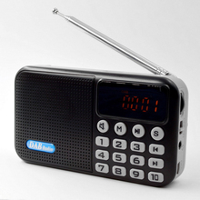 Speaker Radio Bluetooth Mini Stereo FM Digital Multifunctional Wireless Portable DAB