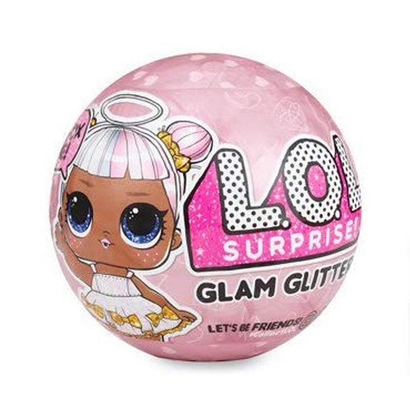 Original LOL Surprise Dolls Color Change Egg Confetti Pop Series Dress LOL Doll Ball Kids Toys For Children Christmas