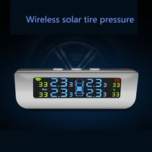цена на Three-Digit Tire Pressure Monitoring TPMS System Tire Monitoring Car Tire Pressure Built-In External Sensor Instrument