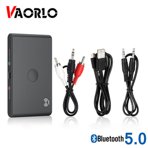 VAORLO NFC Connect Bluetooth Adapter 2 In 1 Transmitter and Receiver For TV Computer Headphones With 3.5 AUX Jack Stereo Adaptor
