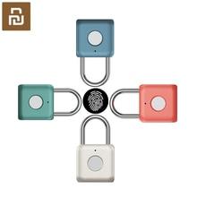 Youpin USB נטענת חכם Keyless אלקטרוני מנעול טביעת אצבע בית בטיחות אבטחת מנעול דלת מקרה מזוודות נעילה