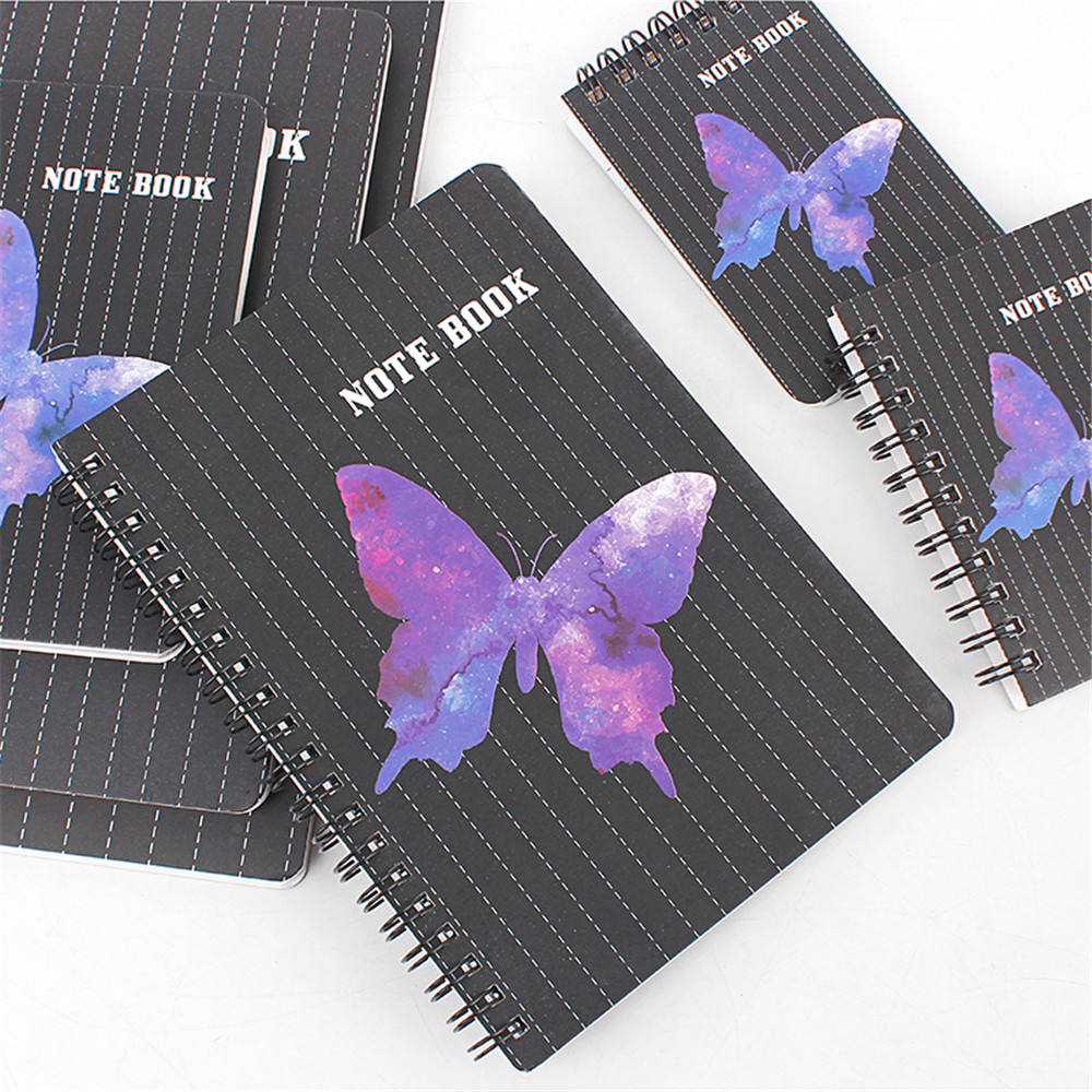 3e1179 Buy Butterfly Notebook Spiral And Get Free Shipping Fr