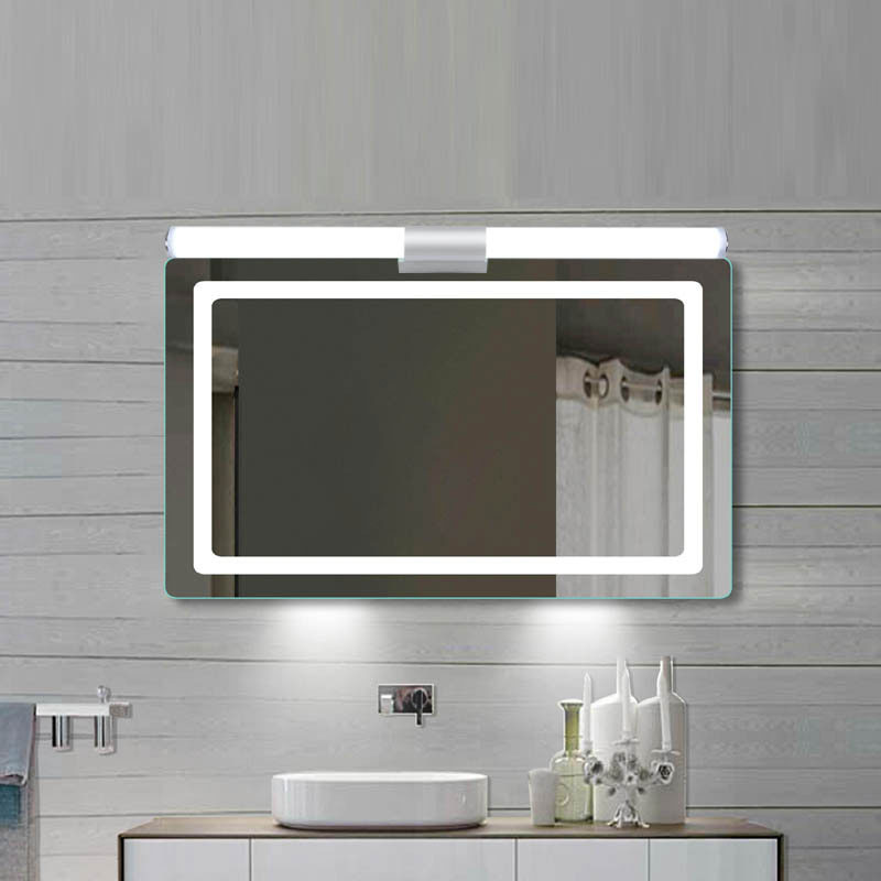 Modern Wall Lamp Super Bright Long Strips Led Mirror Light Simple Style Indoor Decors Acrylic Lamps For Bathroom Bedroom Kitchen 4