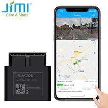 Jimi VG02U Mini OBD GPS Tracker Plug & Play Mit Echtzeit-tracking Fahrer Verhalten Stimme Überwachung Mehrere Alarme für Fahrzeug