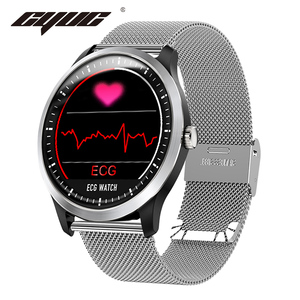 Image 1 - CYUC N58 ECG PPG montre intelligente hommes électrocardiogramme ecg affichage, holter ecg traqueur de fréquence cardiaque moniteur de pression artérielle smartwatch