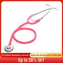 السماعة الطبية الأساسية رئيس واحد المهنية سماعة القلب الطبيب الطبيب الطبيب البيطري ممرضة معدات طبية